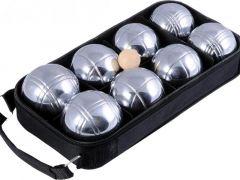 Jeu De Boules 8 Ballen Zwarte Rits Tas