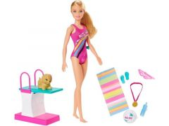 Barbie Dreamhouse Adventures Swim & Dive Doll + Acc.