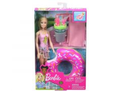 Barbie Pool Party Doll & Playset