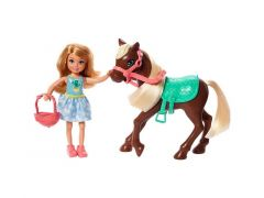 Barbie Chelsea Doll & Pony