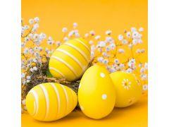 Duni Serviet 33X33Cm 20 St. Eggs & Flowers