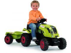 Smoby 710114 Tractor Claas Farmer Xl + Aanhangwagen