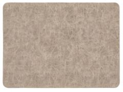 Placemat Truman Rectangular 33X45Cm Double Layer Taupe