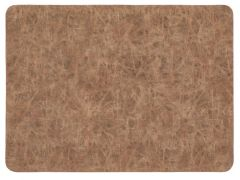Placemat Truman Rectangular 33X45Cm Double Layer Walnut