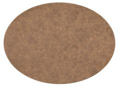 Placemat Truman Oval 33X45Cm Double Layer Walnut