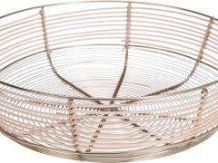 D Schaal Wick En Wire D33Cm