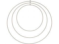 D Ring Metaal Goud Klein