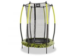 Exit Tiggy Junior Trampoline + Safetynet 140Cm Lime