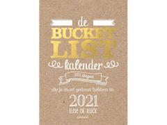 De Bukcetlist Scheurkalender 2021