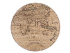 World Map Bamboo D60Cm