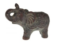 Elephant Terra Cotta 26X11.5X20.5Cm Dark Grey