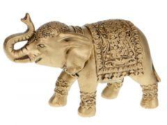 Elephant Ceramic 22X9X16.5Cm Gold