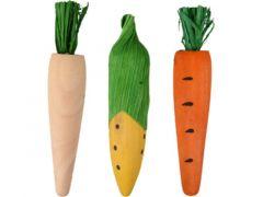 Ks Vikas Wortel Maïs  Geel Natuur   Oranje 3Stuks Dia.2X10Cm