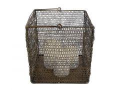 Hamilton Basket/Candleholder Metal
