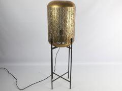 Tafellamp E27 Ro Leidar L Messing L30.5Xb30.5Xh96Cm
