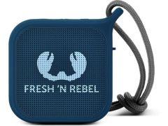 Fresh N Rebel Pebble Fabric Bluetooth Speaker Indigo
