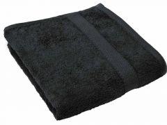 Tiseco Badhanddoek 50X100Cm Black