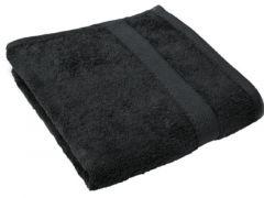 Tiseco Badlaken 70X140Cm Black