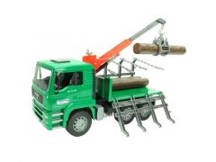 Bruder Man With Timber Truck