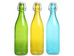 Fles Met Stop 3Ass./ prijs per stuk