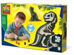 Ses Gieten En Schilderen T-Rex Met Skelet