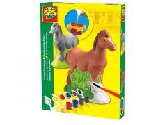 Ses Gieten En Schilderen Paard