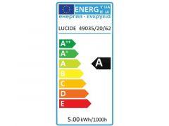 Lucide Lamp Led T32 5W 260Lm 20Cm 2200K Dimbaar Amber