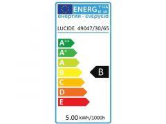 Lucide Lamp Led T32 5W 160Lm 30Cm 2200K Dimbaar Grijs