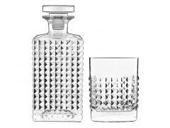Bormioli Luigi 12469/01 Elixir Whisky Set 5-Delig
