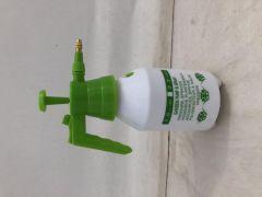 Cosy & Trendy Vaporisator Pomp Met Metalen Top 1L Groen-Wit