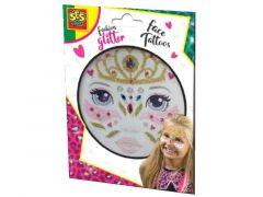 Ses Fashion Glitter Gezicht Tattoos - Prinses
