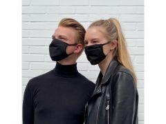 Comfort-Mondmasker 1 Stuk Herbruikbaar Poly/Katoen Zwart