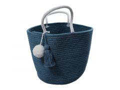 Fabelab Rope Basket - Small - Blue Spruce