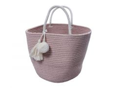 Fabelab Rope Basket - Small - Mauve