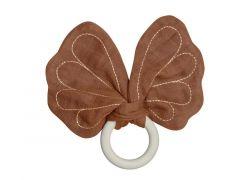 Fabelab Bijtring - Butterfly - Cinnamon