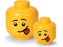 Rc Lego Iconic Opbergbox Hoofd Silly Klein Geel