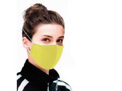 Mondmasker Gecertificeerd Covid19 Use Yellow