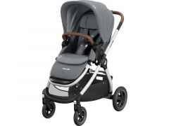 Maxi Cosi Adorra 2 Essential Grey (Grey Frame + Brown Leather)