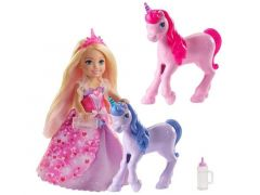 Barbie Dreamtopia Chelsea Princess With Baby Unicorns