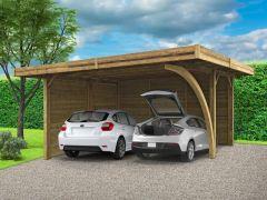 Carport 6X5M Configured