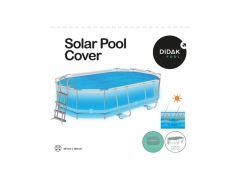 Solar Cover Power Steel Ovaal 4,88M (56448-56946)