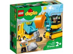 DUPLO®10931 Truck & Graafmachine Met Rupsbanden