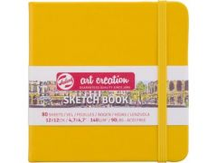 Talens Art Creation Schetsboek Golden Yellow 12X12 140 Gr