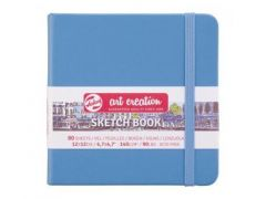 Talens Art Creation Schetsboek Lake Blue 12X12 140 Gr
