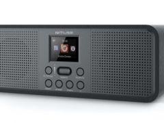 Muse M 118 Db - Radio Dab + Stereo / 2.4 Tft / Ac / Black