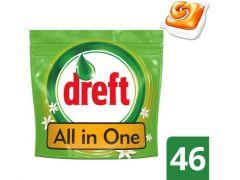 Dreft Vaatwas Allin1 Orange 46St