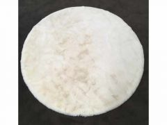 Carpet Rabbitskin D125Cm Linen