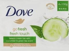 Dove Zeep Fresh Touch 4X100Gr