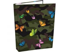 Butterfly Camo Ringmap A4 - 2 Ringen