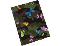 Butterfly Camo Elastomap A4